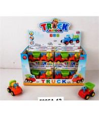 CAMION CONST CARTOON DISPLAY 12PCS
