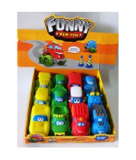 VOITURE CARTOON DISPLAY 12PCS