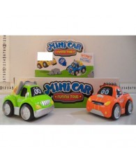SET 4 MINI CAR PLASTIC 7267/6188-2