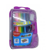 MINI VALISETTE CRAYON COULEUR 12PCS C288
