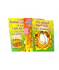 CARTE GARFIELD SUPER  GEANTE
