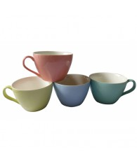 TASSE GM PASTEL 4 COULEURS C48