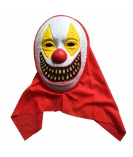 MASQUE CAPE ROUGE CLOWN