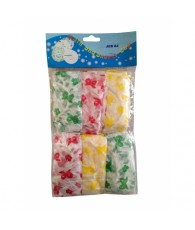 SACHET 6 BONNETS DOUCHES COULEUR C500