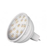 Amp. LED MR16 6W 12v 3000K 120° 485lm LUXRAM C10