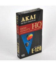 CASSETTE VIDEO AKAI 120MM