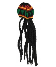 PERRUQUE RASTA BONNET NO0563  C100