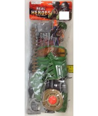 SET MILITAIRE - REAL HEROES MOYEN