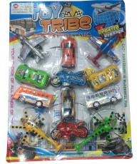 VEHICULE BLISTER TOY TRIBE