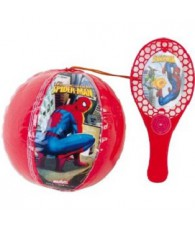 SACHET 12 TAP BALL SPIDERMAN 100225L