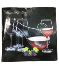 SET 4 VERRES CARAFE ALLONGE