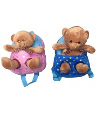 SAC A DOS PELUCHE OURS COEUR
