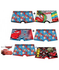 LOT DE BOXERS CARS DPH3096