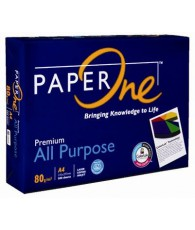 RAME A4 80 GRAMME PAPER ONE (500 FEUILLES)