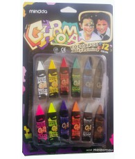 CRAYON MAQUILLAGE 12PCS