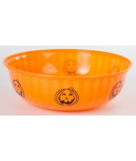 SALADIER HALOWEEN 30CM ORANGE