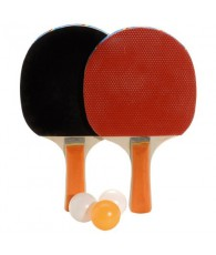 RAQUETTE PING PONG 3 BALLES /1038