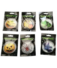 PRES 192 BADGES PHOSPHO  HALOWEEN VETEMENT