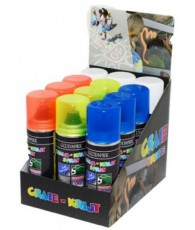 PRES 12 BOMBES A CRAIE  4 COL 125ML