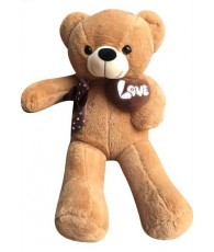 PELUCHE OURS LOVE 115CM