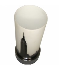 LAMPE TOUCH STYLE BLANC