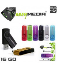 CLE USB EASY MEDIA 16GA EM-002