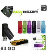 CLE USB EASY MEDIA 64 GIGA EM-037