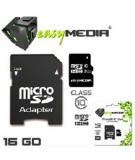 MICRO SD EASY MEDIA  16GA EM-008