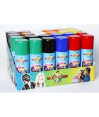 PRES 24 BOMBES CHEVEUX LAQUES 9 COL 125ML
