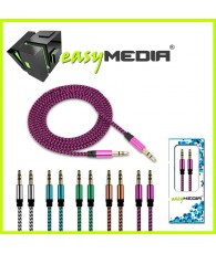 CABLE JACK AUDIO 1,5M