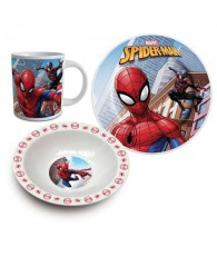SET DEJEUNER SPIDERMAN 3PCS