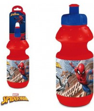 GOURDE PLAST. SPIDERMAN 400ML