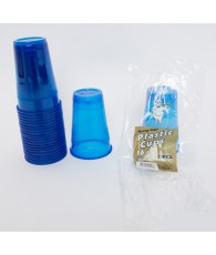 GOBELET X20PCS 500ML BLEU  C48