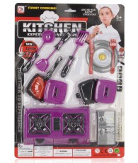 SET KITCHEN USTENSILE 30X42X5CM