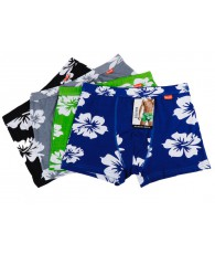 LOT 12 SHORTY HIBISCUS TAILLE ASSORTI L A XXXL