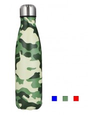 GOURDE METAL 500ML ARME COLORS ASST