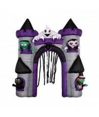 GONFLABE CHATEAU HALOWEEN 2.8X2M