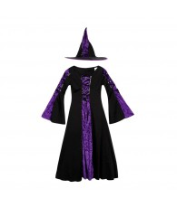 COSTUME SORCIERE COMPLET 25073