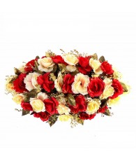 COURONNE 33 ROSE BRILL 72X45CM