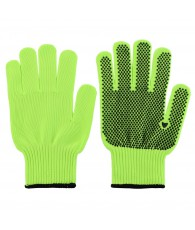 PAIRE DE GANT PICOT FLUO SYNTHETIQUE