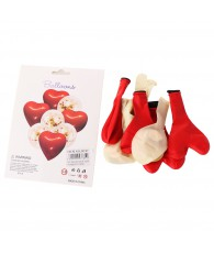 SET BALLON COEUR DECO